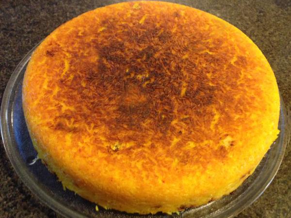 Saffron Rice/Tachin