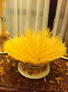 Centerpiece with Spaghetti