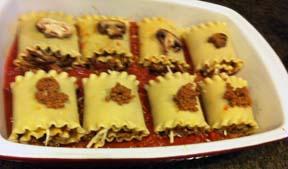 Roll Ups Lasagna