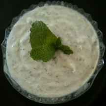 Cucumber Yogurt Dip or Sauce