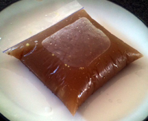 Homemade Beef Stock in Ziplock