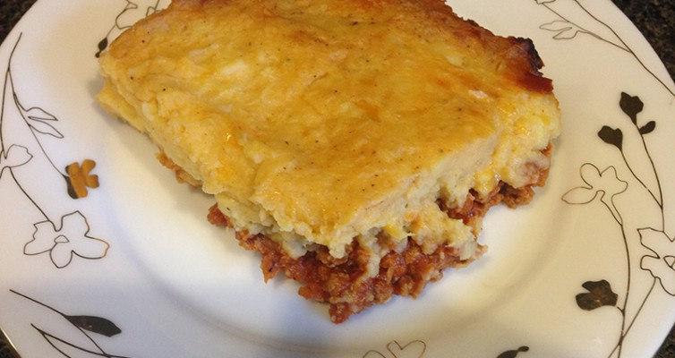 Shepherd Pie With Sweet Potato