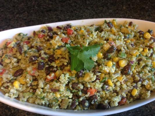Black Bean-and-Quinoa Salad