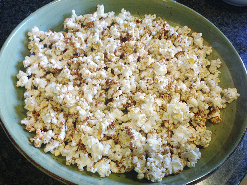 BBQ Seasoned Popcorn