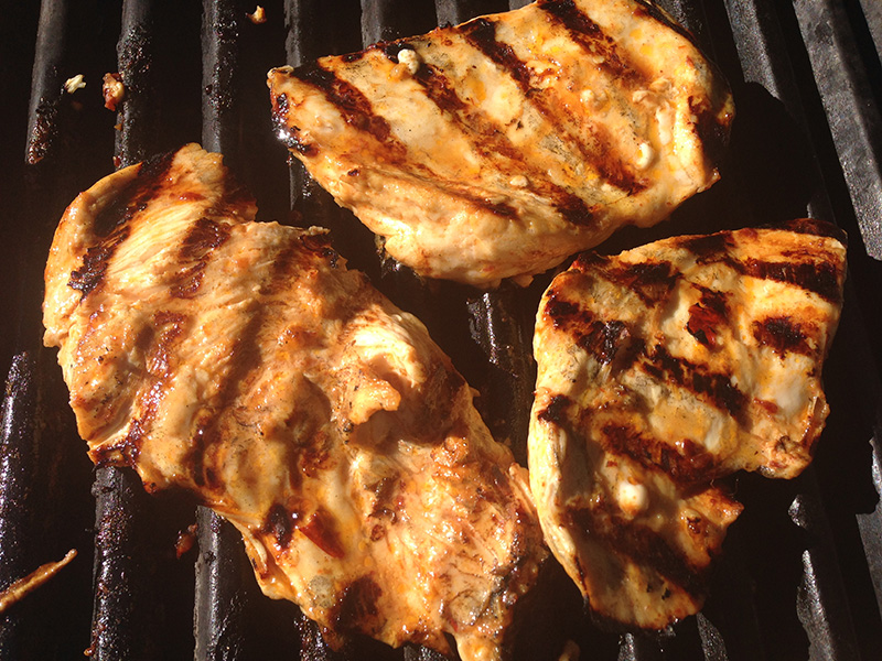 Grilled Chipotle Chicken