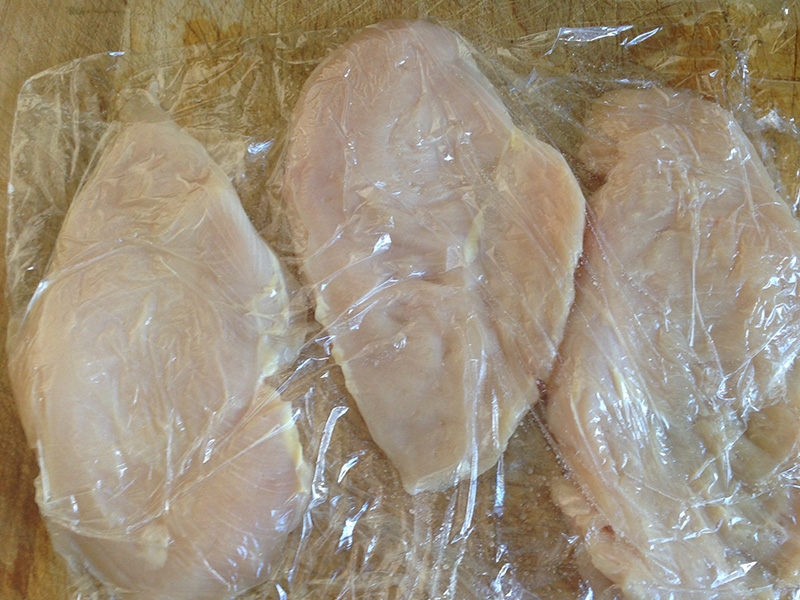 Pounded Chicken Breast