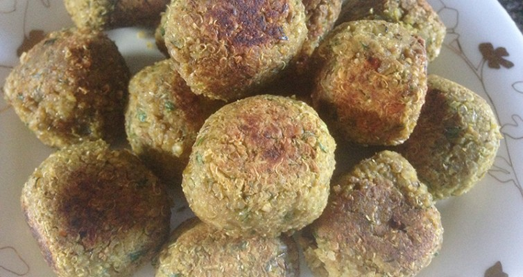 Quinoa and Lentils Meatballs