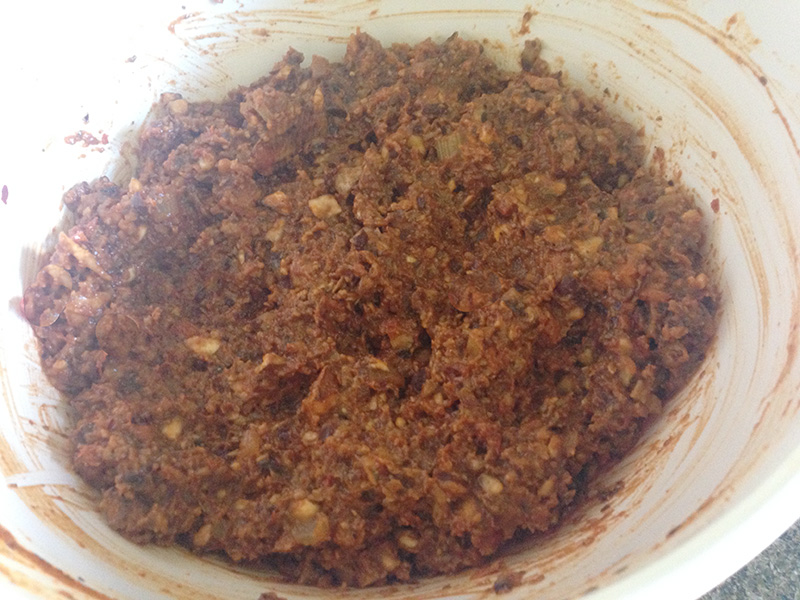 Meatless Meatloaf Mixture