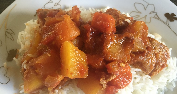 Slow Cooked Chicken Stew