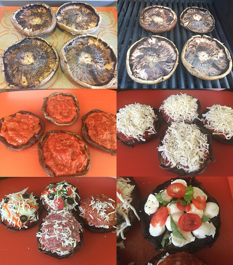 Prep For Portobello Mushroom  Pizza